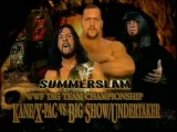 The Undertaker and Big Show vs Kane and X-Pac - World Tag Team Championship (1/2)