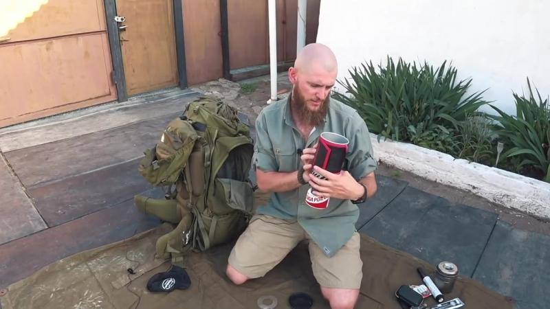 Обзор - EDC оперативный рюкзак. Летний автомобильный и походный вариант необходимых носимых вещей