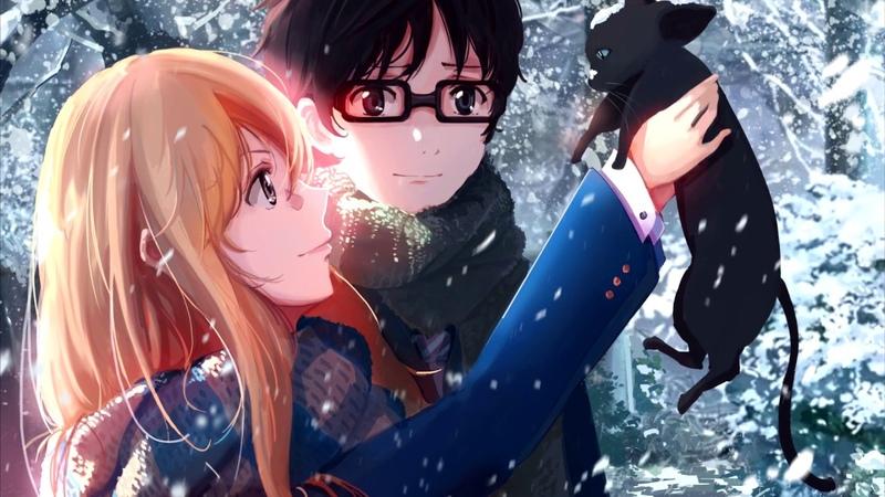 Fuyu no Epilogue Shigatsu wa Kimi no Uso Goose house RUS cover Camellia Alina Chunareva