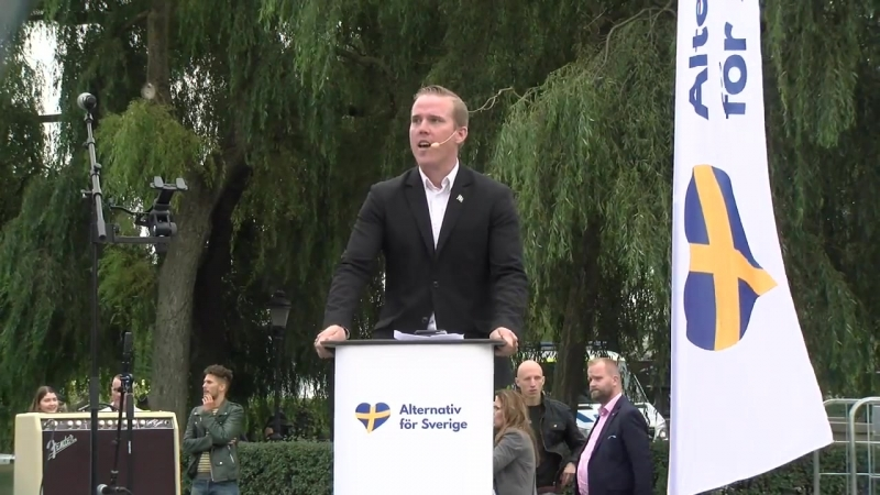 Jeff Ahl i Kungsträdgården