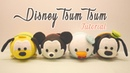 DIY Disney Tsum Tsum Plushies - Mickey Mouse, Donald Duck, Goofy Pluto (for Sweetorials Auditions)