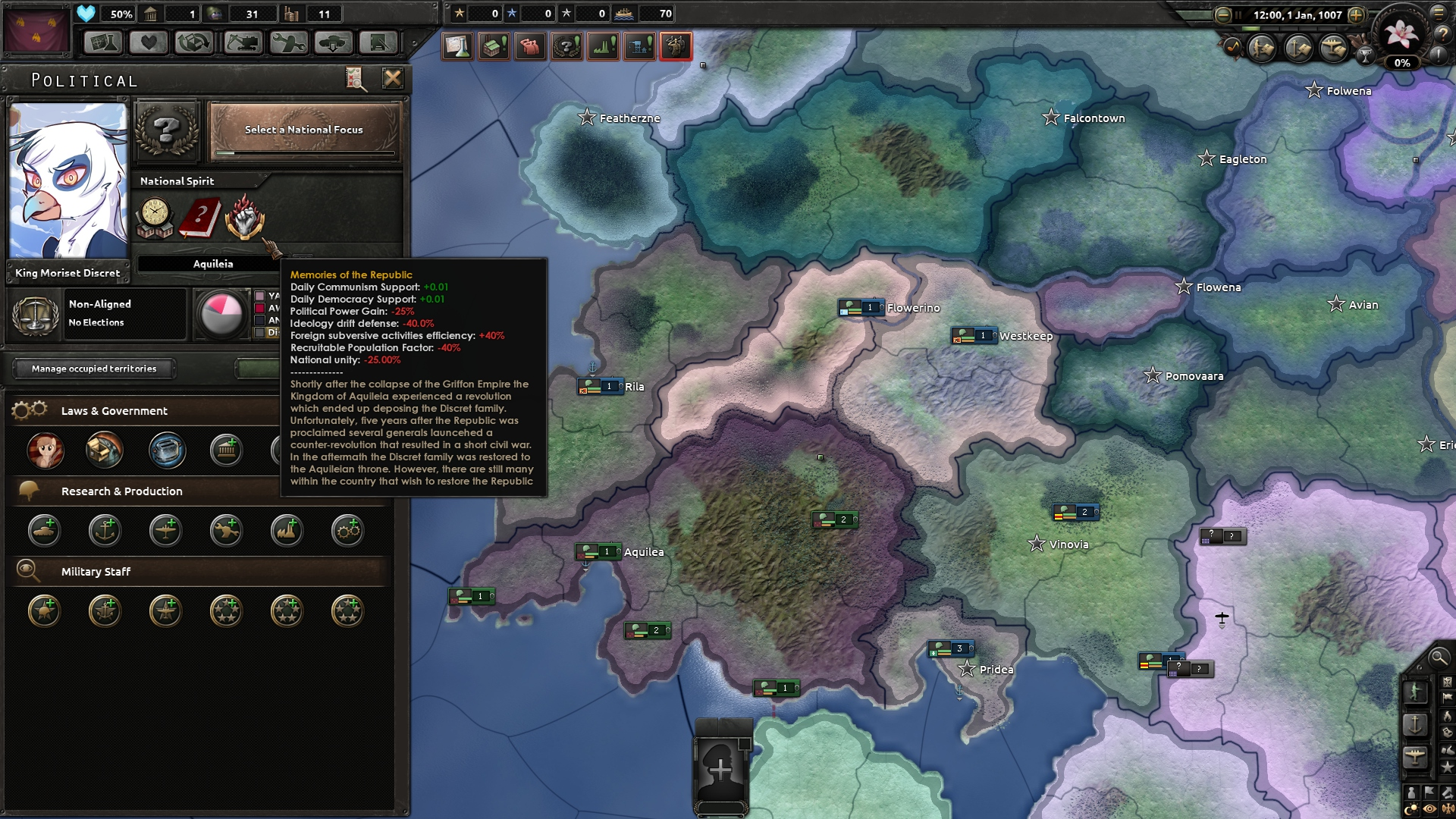 Equestria At War Dev Diary I The New Continent Hoi4