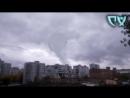 Ужасающее явление в небе предсказывающее конец света Не реальные кадры НЛО