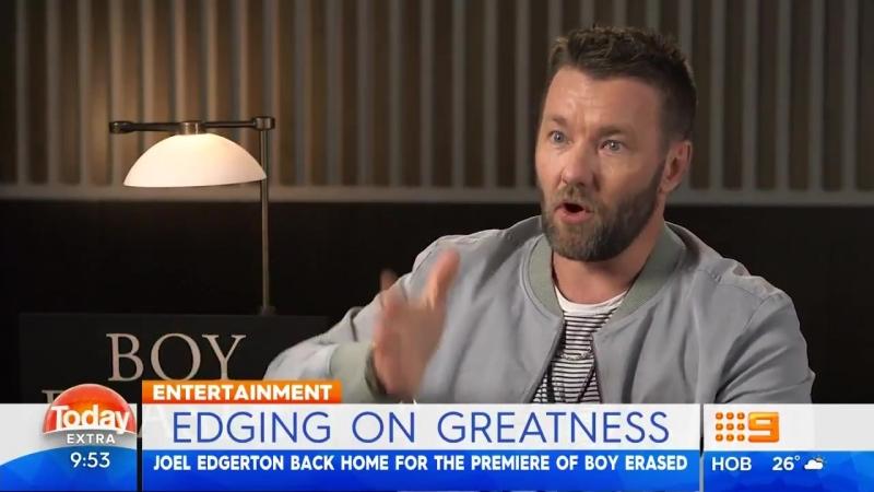 15.10.2018 | Джоэл на интервью утреннего тв-шоу «ThetoDayShow» в Сиднее.