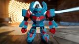Mighty Morphin Power Rangers v Team Nerdist (Toy Smash)