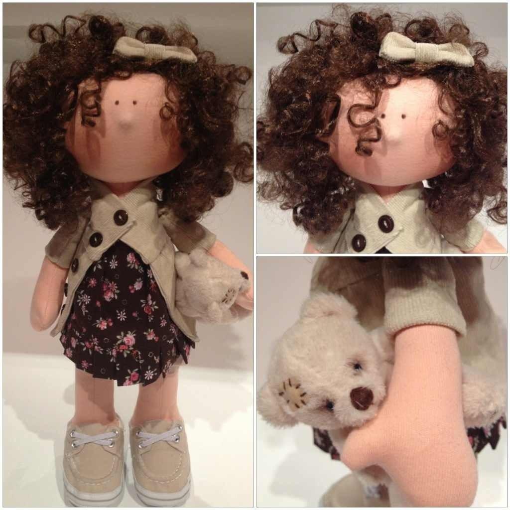 Фото как сшить куклу 176