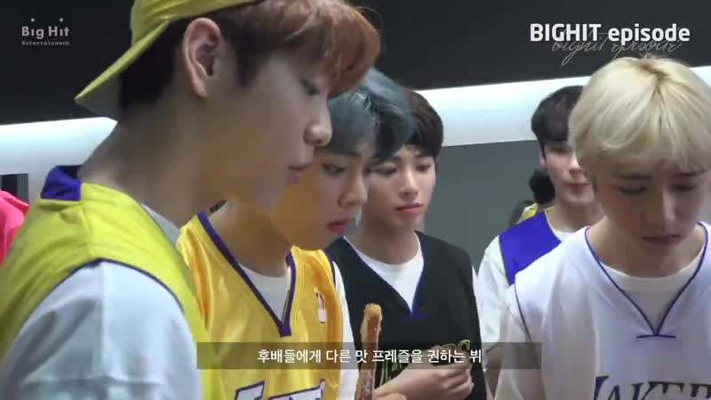 Taehyung take cary of baby Gyu