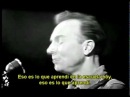 Pete Seeger - What did you learn in school today? (con subtitulado español)