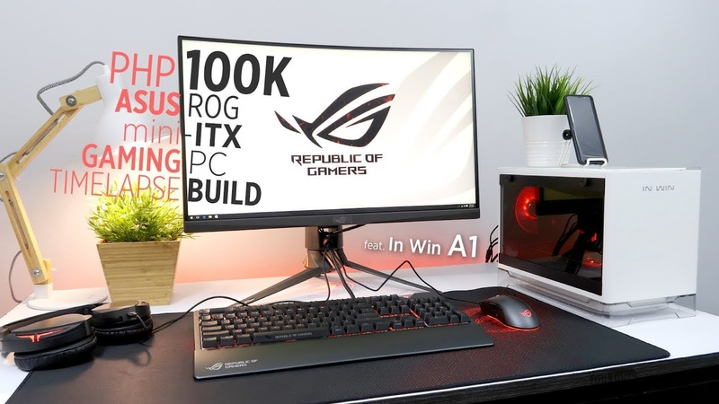 Php100k ASUS ROG mini-ITX Gaming PC Time Lapse Build ft. In Win A1