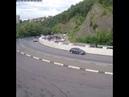 Фургон скатился с горки и лег на Мамайском перевале