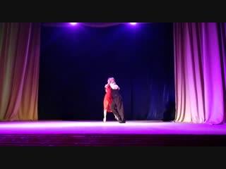 """Improvisación de tango argentino. cumpleaños tarea de danzas """"ángeles""""."""