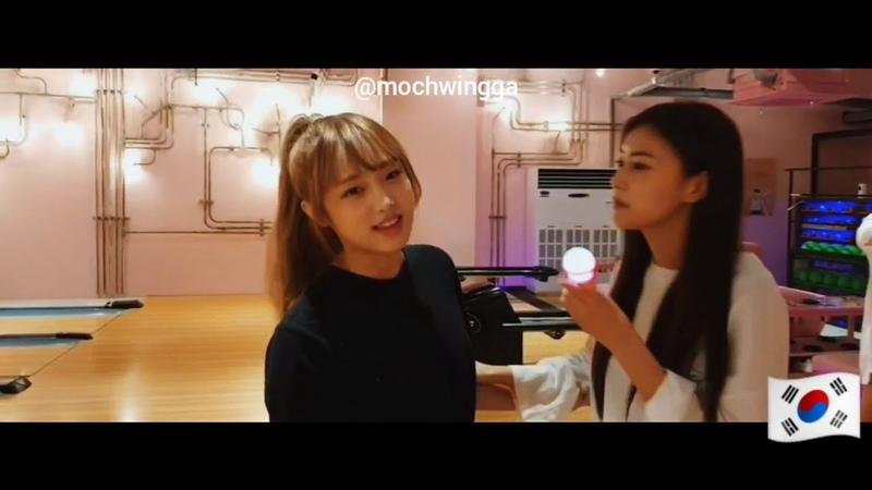 [VLIVE] 180929 Special IZONE Celebration of Choi Yena Birthday!