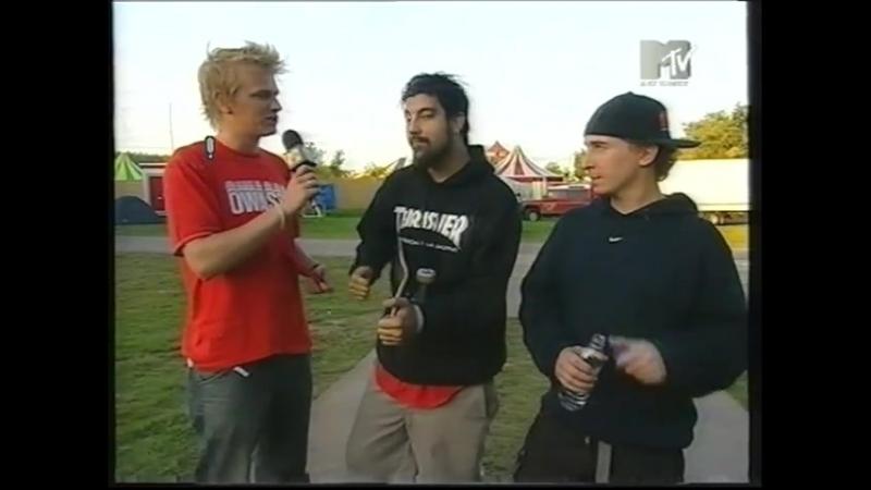 Deftones - Interview/Root (Live at Lowlands 2000)