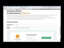 BITCLUB NETWORK Вывод средств из НОВОГО личного кабинета