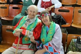 Семья Жуковых - Иван Дмитриевич и Раиса Александровна. Владимирская область, поселение Ладное.