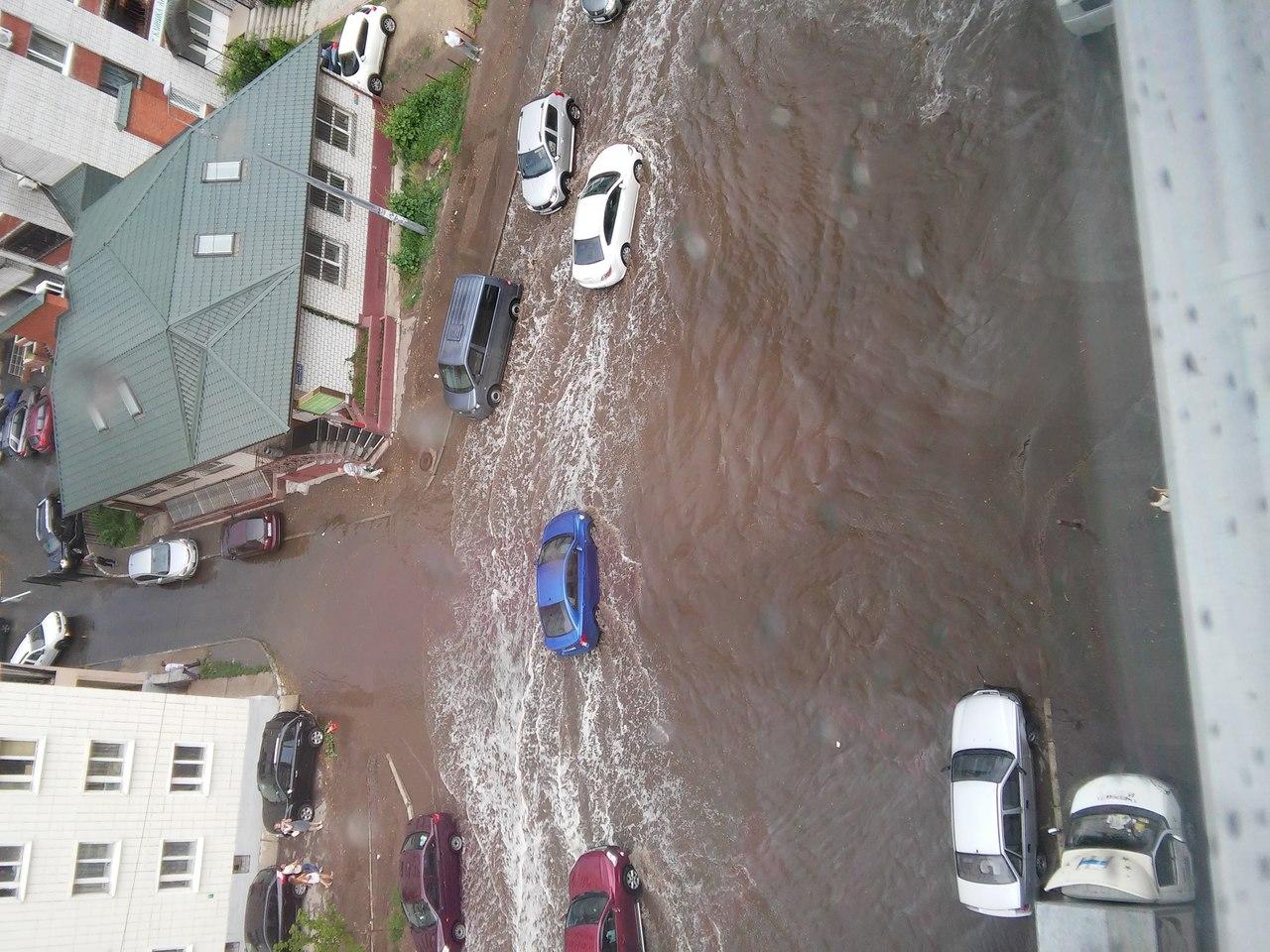 затопило квартиру от дождя