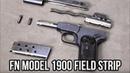FN Model 1900 Field Strip
