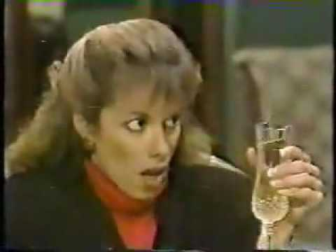 Santa Barbara Julia and Tori Compare Notes On Mason As A Lover At Their Drunken Lunch 1987