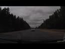В воскресенье утром на трассе Иваново Родники