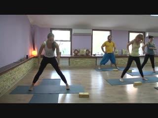 Йога - первое занятие