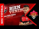Vitória oficializa contratação do atacante Walter Bou