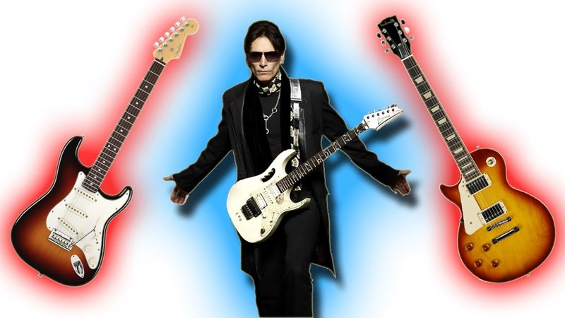 Steve Vai What I Like Dislike About Strats Les Paul Guitars...