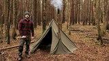 Winter Camping in a Hobbit Tent and a Woodstove (Походные и кемпинговые печи из Норвегии))