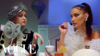 Gigi, Bella & Anwar Hadid Have Dinner With Yolanda | Vogue
