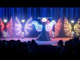 FireAngels экстрим балет- эксклюзивное световое шоу, отрывок из шоу