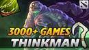 Thinkman Pudge 3000 Games Highlights Dota 2