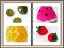Pompon e fruit \ Fruit con pon pon