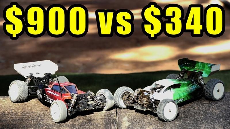 VKAR RACING V.4B vs TECHNO EB410 - 110th Buggy Comparison