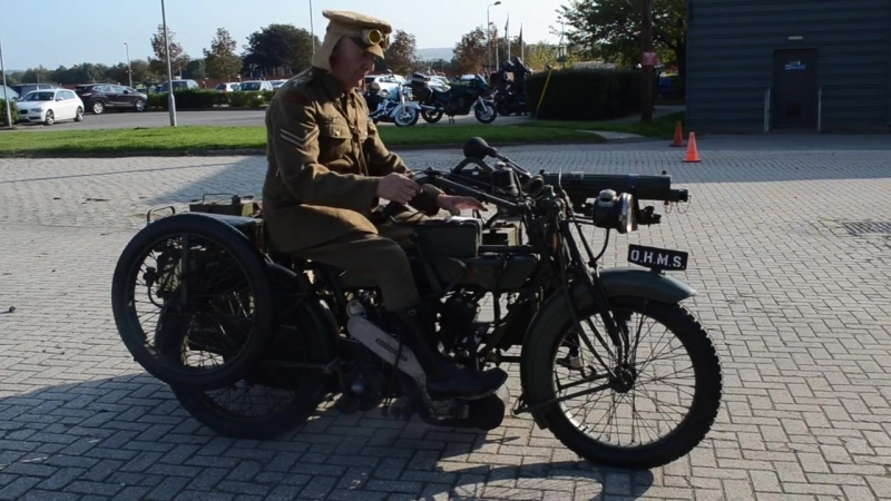 Мотоцикл MATCHLESS VICKERS, 1917 г.