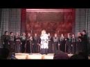 Песня Есенинские вечера . Академический любительский хор Ретро Приокского ДК г.Рязань
