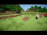 [Деревенский Парень] ►Если Бы МОБЫ и ИГРОКИ Поменялись местами?   Minecraft Machinima