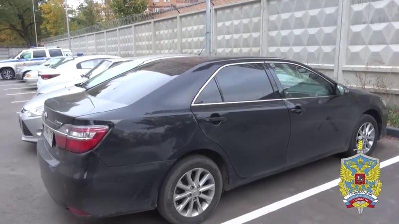 Серийного автоугонщика, находившегося в федеральном розыске, задержали полицейские МО