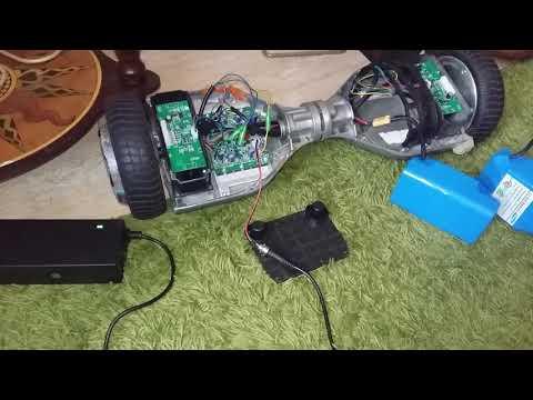Не работает Гироскутер Зарядное устройство горит зеленый все время но включается