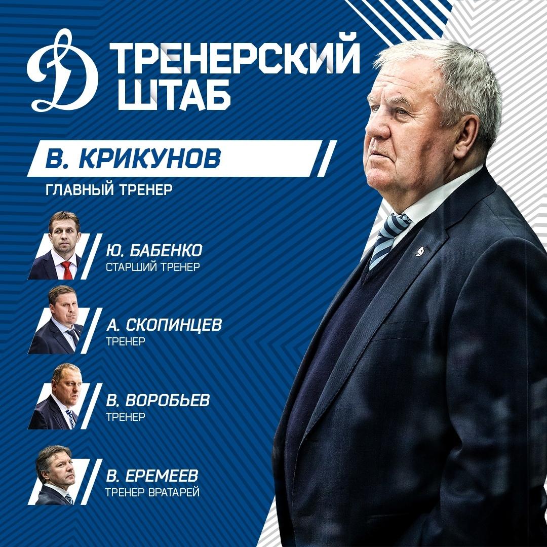 Динамо москва хоккейный клуб главный тренер стрелковые клубы в москве