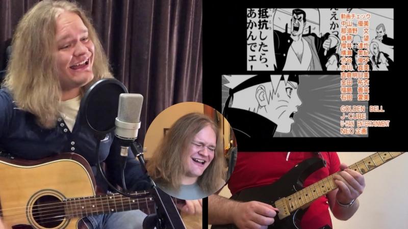 [Home video]: Пашка Гращенко — Naruto | Michi To You All (ED 2) [Guitar Vocal Cover]