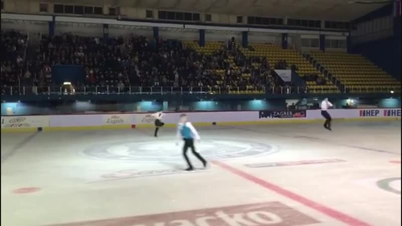 Gala Golden spin Zagreb три акселя
