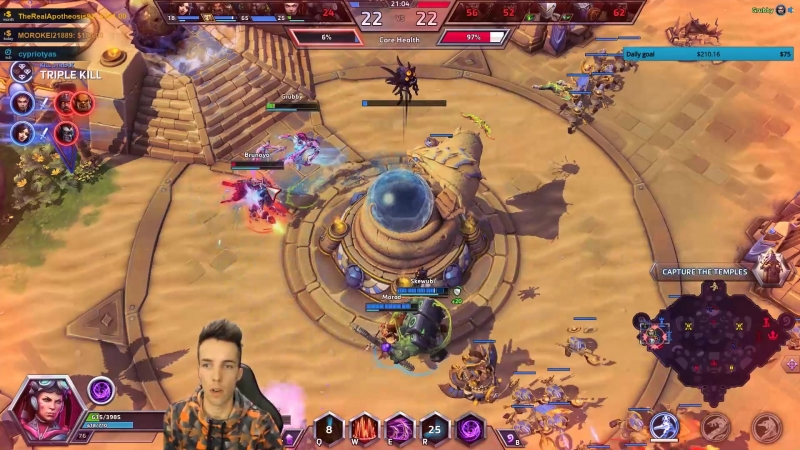 Grubby demonstrates the fury of the Swarm