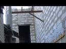Пример применения ОБРАТНОГО каркаса при газобетонных стенах и монолитных бетонных перекрытиях.