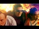 Сцена из фильма Люди Икс: Апокалипсис - Ртуть спасает всех мутантов в школе от взрыва.