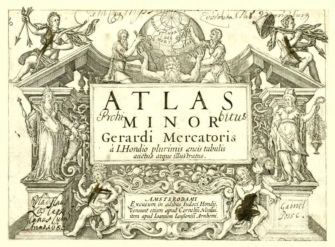 Атлас Меркатора 1610 года