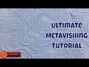 How to Quilt McTavishing Quilting on a Home Machine and Longarm Frame
