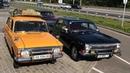 Авто легенды СССР в песчаных дюнах. Волга, ИЖ Комби и Жигули едут на рыбалку.