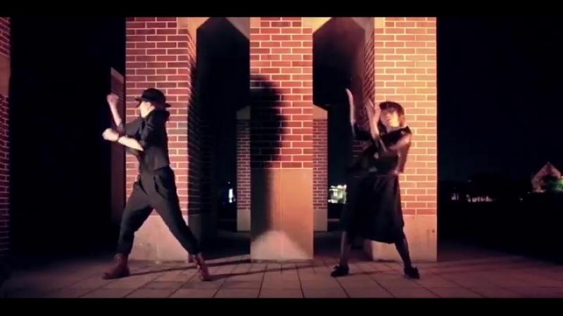 6_6 動画投稿しました✧˖゚__桜子(@skrc2525)とのコラボです!_恋に落ちながら踊ってみました_cupidKnifeLife 踊ってみた _ m × 桜 ( SQ )