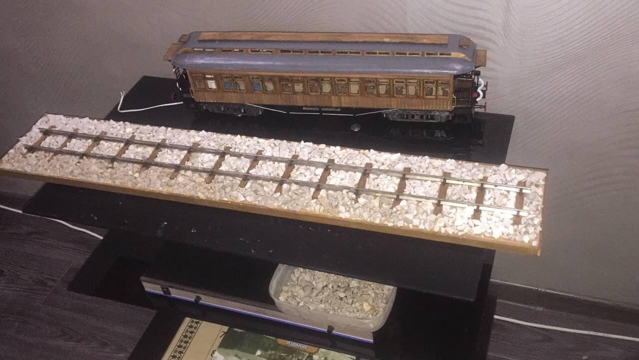 Модель вагона Costa Coach Масштаб 1:32 OcCre (качество фото не очень) NX4ttuNGQNA