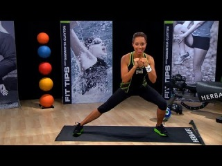 How to do a perfect ... inner/outer thigh exercise   Herbalife Fit Tips with Samantha Clayton