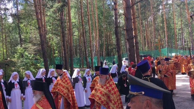 Приезд Патриарха Кирилла на межную